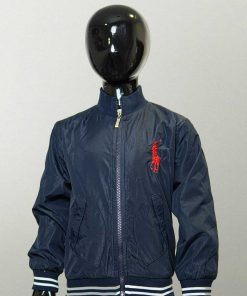 Polo Navy Blue Zipper Jacket